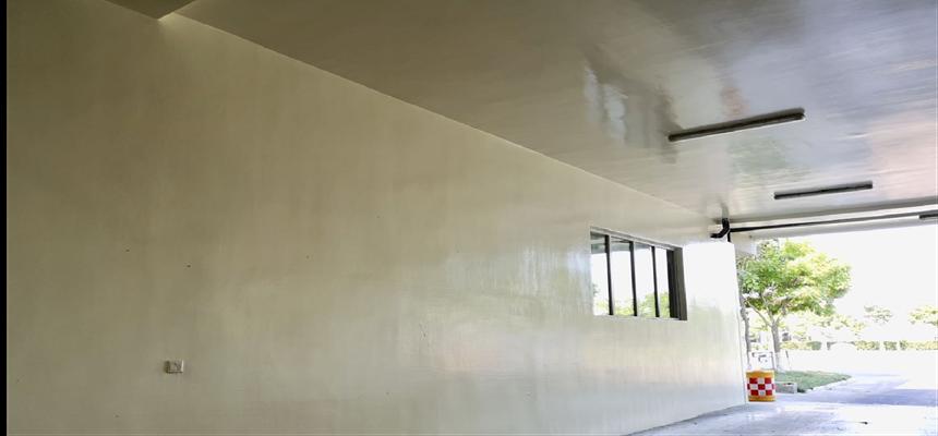 食品厂墙面地面